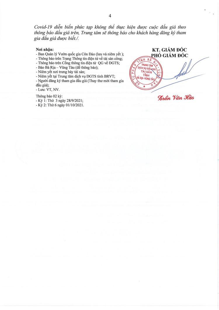 Ngày 15/10/2021, đấu giá tàu gỗ tại tỉnh Bà Rịa -Vũng Tàu ảnh 5