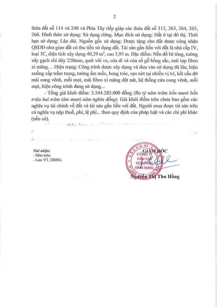Ngày 21/10/2021, đấu giá 2 quyền sử dụng đất tại thành phố Lạng Sơn, tỉnh Lạng Sơn ảnh 3