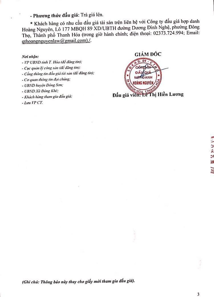 Ngày 18/10/2021, đấu giá quyền sử dụng 205 lô đất tại huyện Đông Sơn, tỉnh Thanh Hóa ảnh 7