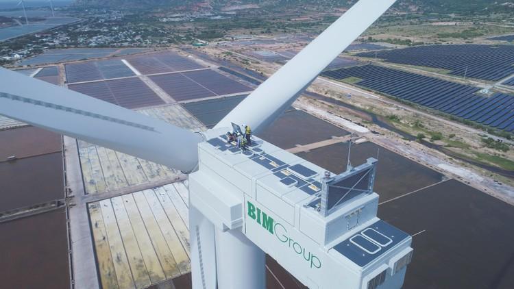 Báo quốc tế đưa tin về Tổ hợp kinh tế muối và năng lượng tái tạo lớn nhất Việt Nam ảnh 2