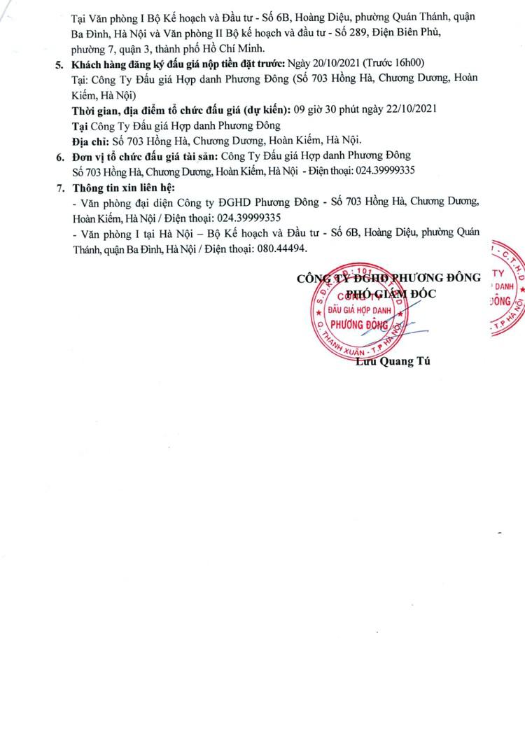 Ngày 22/10/2021, đấu giá 03 xe ô tô tại Hà Nội ảnh 3