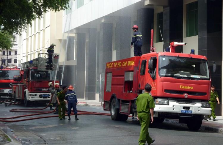 EVNSPC: Bảo đảm an toàn phòng cháy chữa cháy trong bối cảnh dịch bệnh Covid-19 ảnh 1