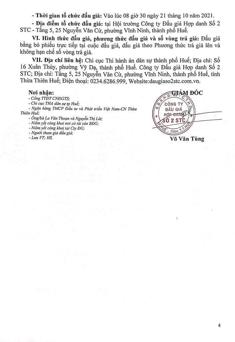 Ngày 21/10/2021, đấu giá tàu đánh cá vỏ gỗ tại tỉnh Thừa Thiên Huế ảnh 5