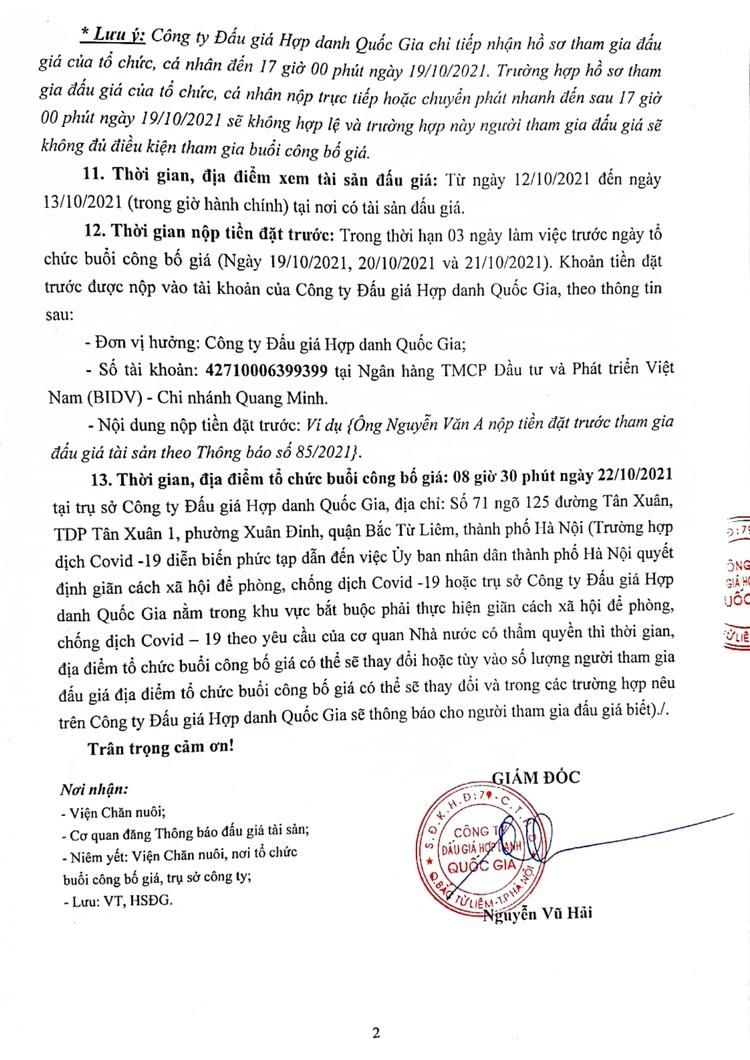 Ngày 22/10/2021, đấu giá lô tài sản cố định và công cụ dụng cụ thanh lý tại Hà Nội ảnh 3