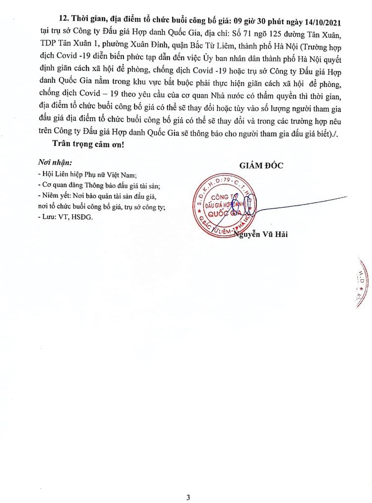 Ngày 14/10/2021, đấu giá 03 xe ô tô đã qua sử dụng tại Hà Nội ảnh 4