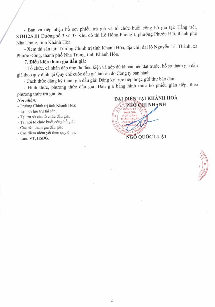 Ngày 12/10/2021, đấu giá xe ô tô TOYOTA HIACE tại tỉnh Khánh Hòa ảnh 3