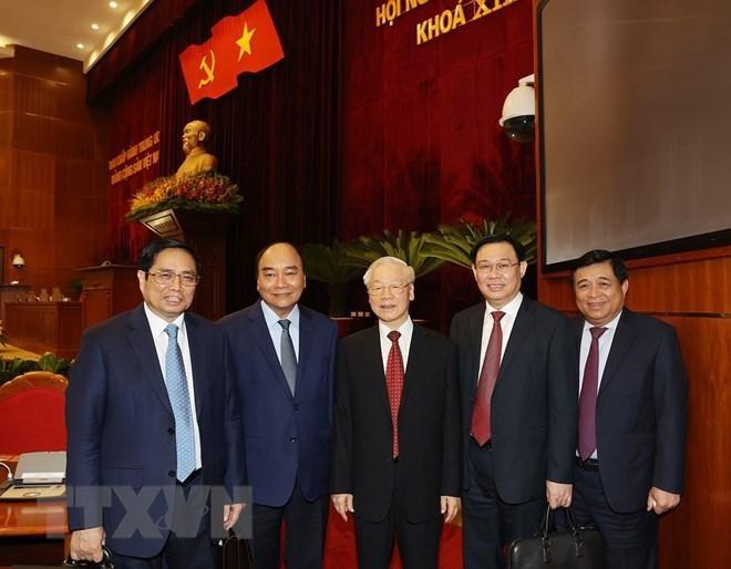 Tổng Bí thư Nguyễn Phú Trọng: Chúng ta đã bình tĩnh, tỉnh táo xử lý kịp thời, đúng đắn những vấn đề khó, chưa có tiền lệ, mới phát sinh ảnh 1