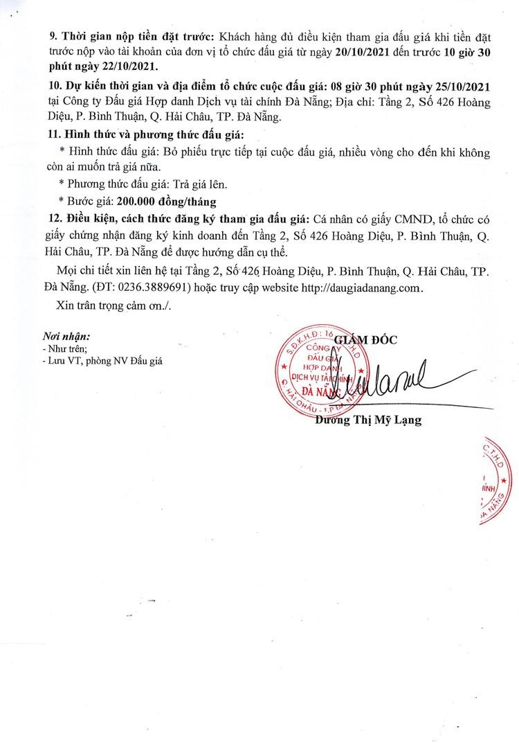 Ngày 25/10/2021, đấu giá quyền sử dụng và khai thác mặt bằng căn tin tại Trường THPT Tôn Thất Tùng, TP. Đà Nẵng ảnh 4