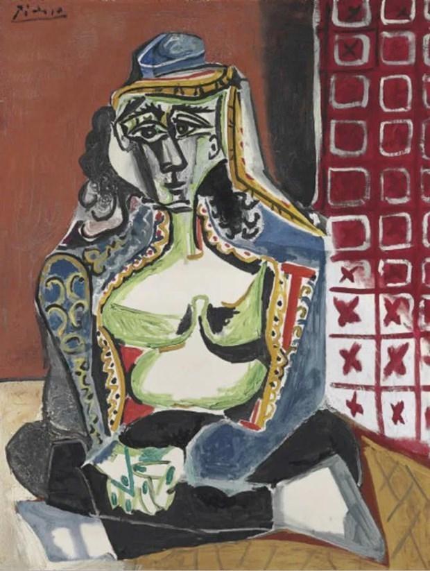 Tranh Picasso là điểm nhấn trong chương trình đấu giá của Christie's ảnh 1