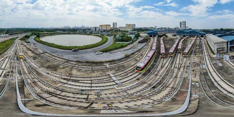 Toàn cảnh các đoàn tàu Nhổn - ga Hà Nội chuẩn bị vận hành tổng thể ảnh 10