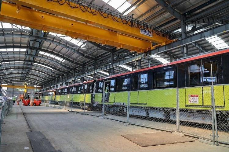 Toàn cảnh các đoàn tàu Nhổn - ga Hà Nội chuẩn bị vận hành tổng thể ảnh 4