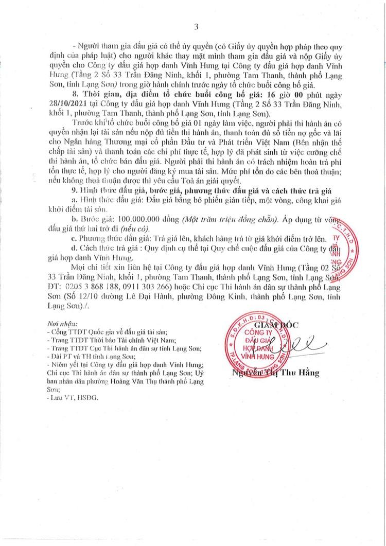 Ngày 28/10/2021, đấu giá quyền sử dụng đất tại thành phố Lạng Sơn, tỉnh Lạng Sơn ảnh 5