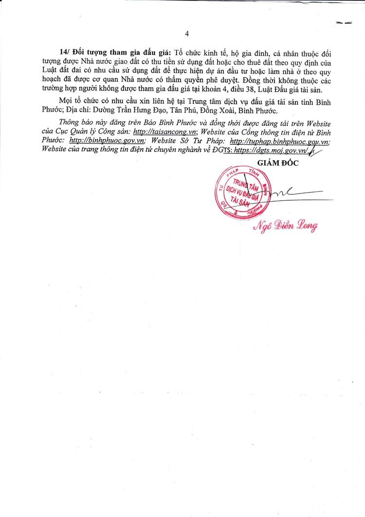Ngày 29/10/2021, đấu giá quyền sử dụng 28 lô đất tại huyện Bù Đăng, tỉnh Bình Phước ảnh 5