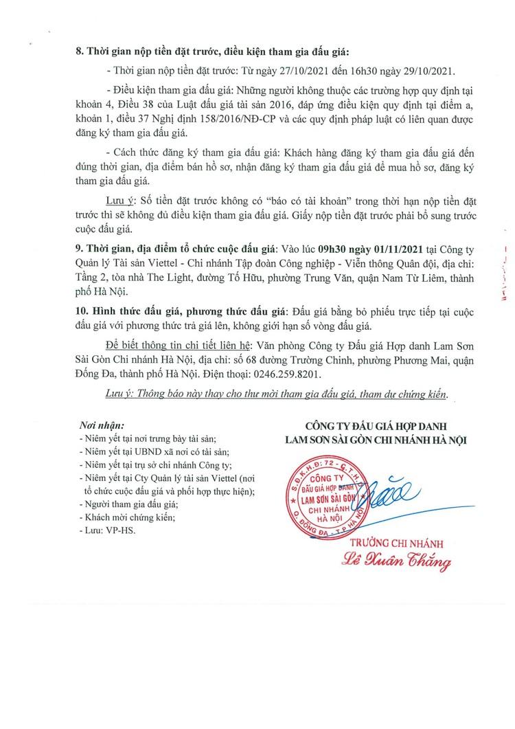Ngày 1/11/2021, đấu giá tài sản gắn liền với đất tại nhà máy nước khoáng Thiên An, huyện Quỳ Hợp, tỉnh Nghệ An ảnh 4