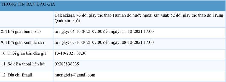 Ngày 13/10/2021, đấu giá tang vật vi phạm hành chính tại tỉnh Nam Định ảnh 2