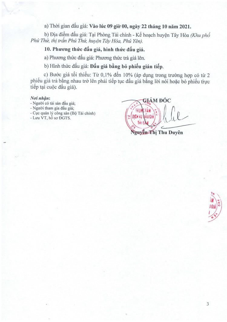 Ngày 22/10/2021, đấu giá xe ô tô Ford tại tỉnh Phú Yên ảnh 4