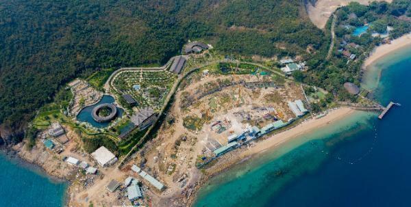 Khu du lịch đảo Hòn Tằm biến đất dịch vụ thành 'đất ở không hình thành đơn vị ở' ảnh 1
