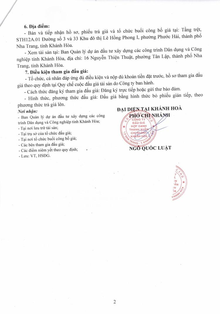 Ngày 18/10/2021, đấu giá 01 xe ô tô SSANG YONG tại tỉnh Khánh Hoà ảnh 3