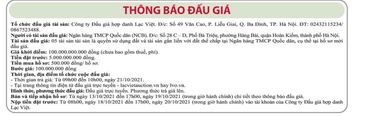 Ngày 21/10/2021, đấu giá quyền sử dụng đất tại huyện Tam Nông, tỉnh Đồng Tháp ảnh 1