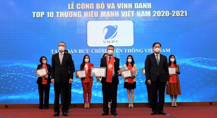 VNPT được vinh danh trong TOP 10 Thương hiệu mạnh Việt Nam 2020-2021 ảnh 2