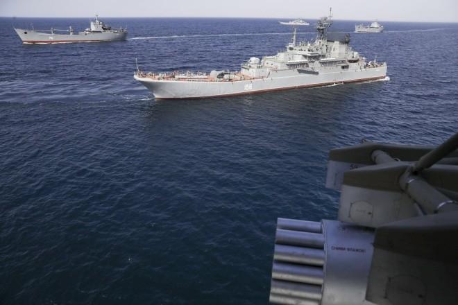 Cuộc tập trận phô diễn sức mạnh của Nga ở Crimea ảnh 2