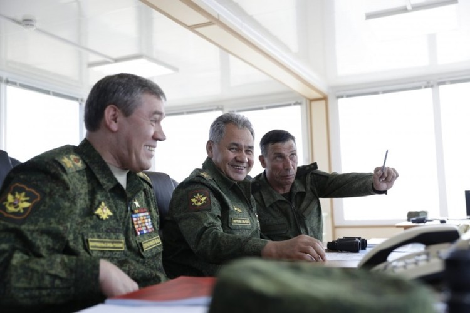 Cuộc tập trận phô diễn sức mạnh của Nga ở Crimea ảnh 3