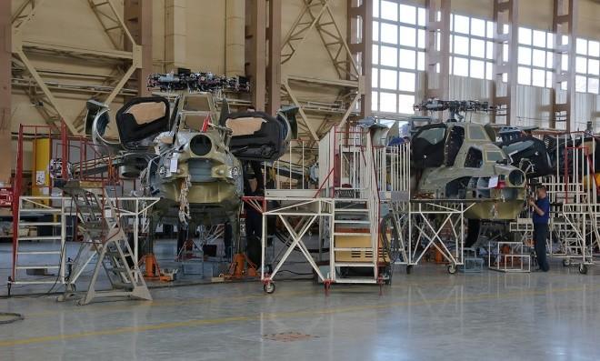 Bên trong nhà máy sản xuất trực thăng 'thợ săn đêm' Mi-28NE ảnh 3