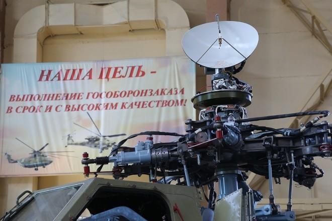 Bên trong nhà máy sản xuất trực thăng 'thợ săn đêm' Mi-28NE ảnh 4