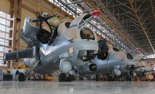 Bên trong nhà máy sản xuất trực thăng 'thợ săn đêm' Mi-28NE ảnh 8