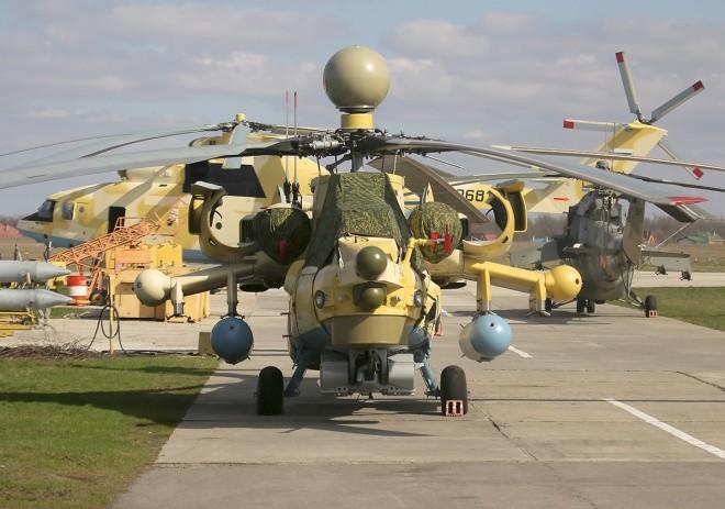 Bên trong nhà máy sản xuất trực thăng 'thợ săn đêm' Mi-28NE ảnh 11