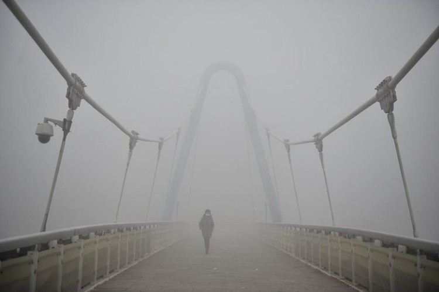 Ô nhiễm không khí ở Trung Quốc vượt quy chuẩn của WHO 100 lần ảnh 3