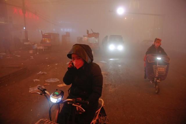 Ô nhiễm không khí ở Trung Quốc vượt quy chuẩn của WHO 100 lần ảnh 4