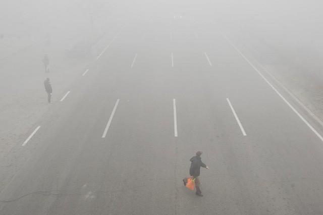 Ô nhiễm không khí ở Trung Quốc vượt quy chuẩn của WHO 100 lần ảnh 6