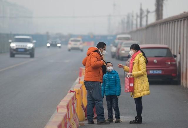 Ô nhiễm không khí ở Trung Quốc vượt quy chuẩn của WHO 100 lần ảnh 7