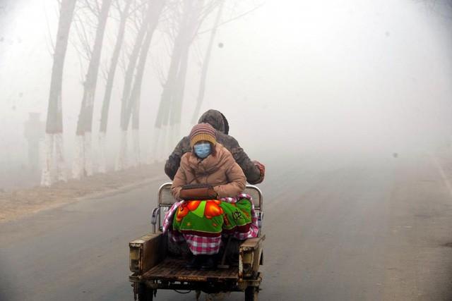 Ô nhiễm không khí ở Trung Quốc vượt quy chuẩn của WHO 100 lần ảnh 9