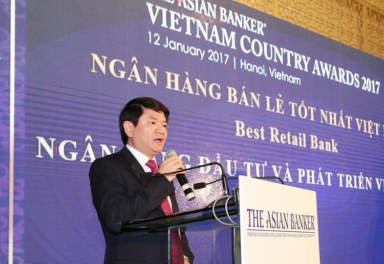 BIDV trở thành Ngân hàng bán lẻ tốt nhất Việt Nam 3 năm liên tiếp ảnh 1