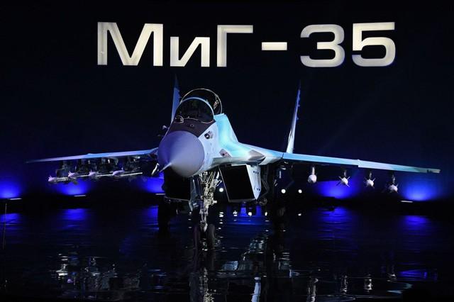 Uy lực máy bay chiến đấu đa năng MiG-35 vừa trình làng ảnh 1
