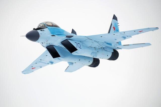 Uy lực máy bay chiến đấu đa năng MiG-35 vừa trình làng ảnh 3