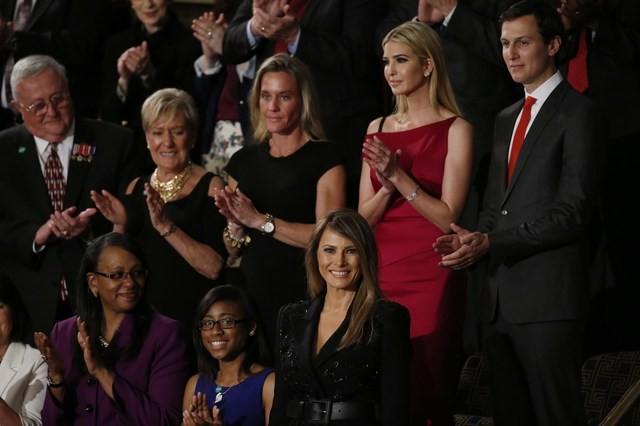 Tổng thống Trump lần đầu phát biểu trước Quốc hội sau một tháng nhậm chức ảnh 7