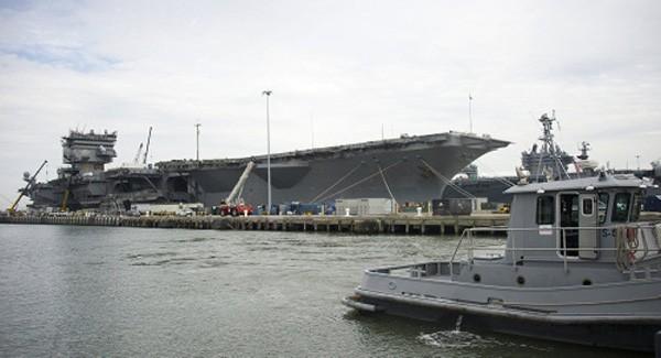 Mỹ chật vật tháo dỡ tàu sân bay hạt nhân đầu tiên ảnh 1