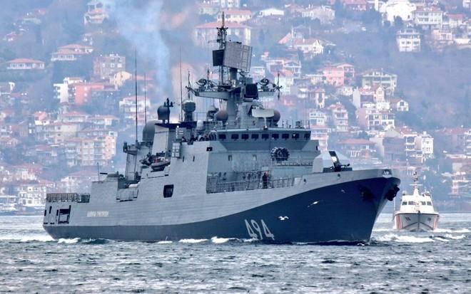 Tàu hộ vệ Nga vượt eo biển Thổ Nhĩ Kỳ tới Syria ảnh 2
