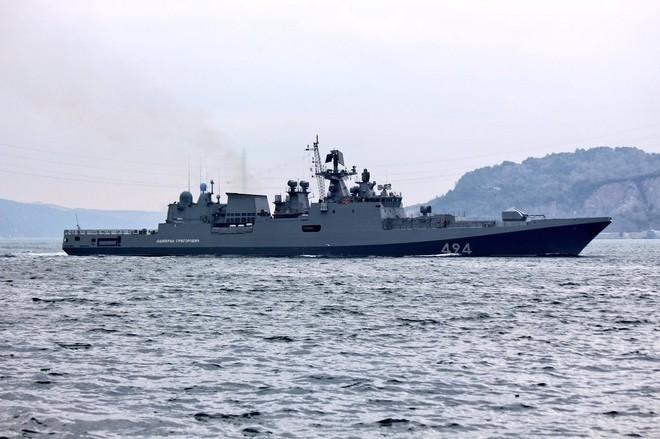 Tàu hộ vệ Nga vượt eo biển Thổ Nhĩ Kỳ tới Syria ảnh 3