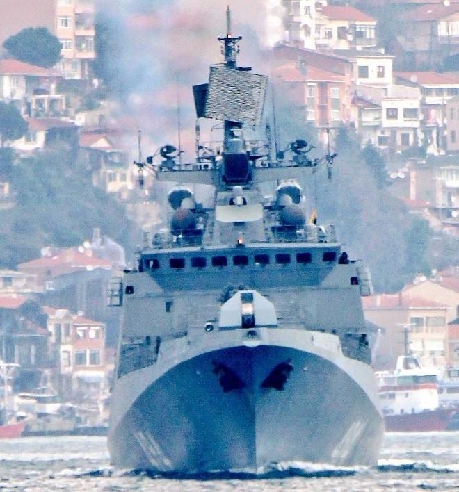 Tàu hộ vệ Nga vượt eo biển Thổ Nhĩ Kỳ tới Syria ảnh 4