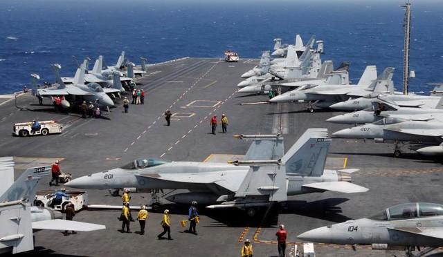 Sức mạnh tàu sân bay Mỹ tuần tra ở Biển Đông ảnh 3