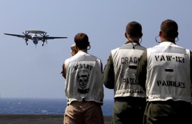 Sức mạnh tàu sân bay Mỹ tuần tra ở Biển Đông ảnh 7