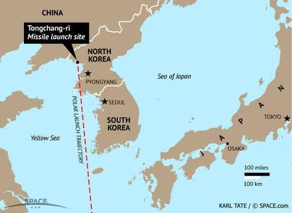 Nhật, Hàn nói tên lửa Triều Tiên bay xa 1.000 km ảnh 1