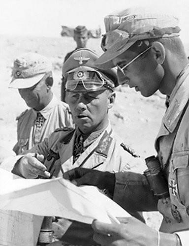 Trận đánh nghi binh mở đầu cho thảm bại của 'cáo sa mạc' Đức ảnh 1