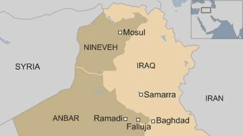 Phiến quân IS nổ tung khi cài mìn bẫy dân quân Iraq ảnh 1