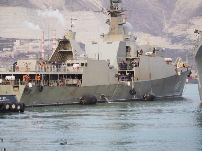 Chiến hạm tàng hình Gepard trầy trụa sau đợt thử nghiệm vũ khí trên biển ảnh 3