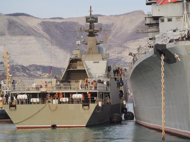 Chiến hạm tàng hình Gepard trầy trụa sau đợt thử nghiệm vũ khí trên biển ảnh 4